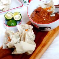Siomay Bandung Ikan Tenggiri (10pcs) = (Khusus Delivery Gojek & Grab) - Siomay Isi 10