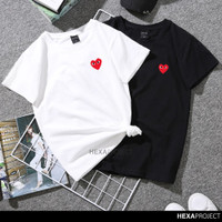 Kaos KPOP CDG Kaos Distro Pria dan Wanita - KPOP41 - Putih, S