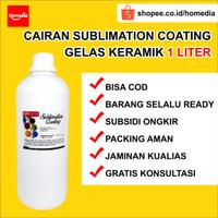 Cairan Sublimation Cairan Coating Mug Gelas Keramik THINNER Ready Mix