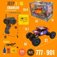 Jeep Crawler 1:16