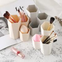 Tempat brush make up makeup cantik minimalis lucu bahan pp