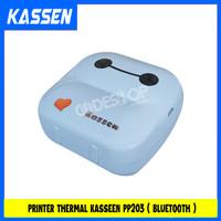 KASSEN PP-203 Peripage Mini Mobile Printer Bluetooth Portable 58mm - B