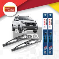 Wiper Mobil Toyota Rush Sepasang (2pcs) Bosch Advantage