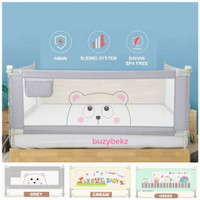 Baby Bedrail Bed Guard Rail Pagar Pengaman Kasur tempat tidur bayi