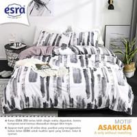 Set Bedcover Sprei Katun motif Asakusa Ukuran 180x200 160x200