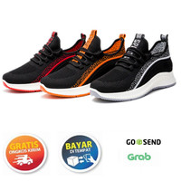Krugeer Sepatu Sneakers Fashion Pria Impor Trendy Gaya Kasual W-26