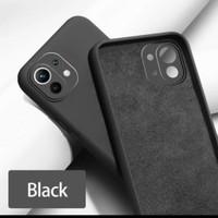 Caseng Xiaomi MI 11 Soft Case Microfiber lembutCasing Ramping - Biru