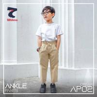 Celana Panjang Anak Laki laki Ankle Pant AP02 Cream by Bilhikma