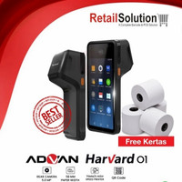 Advan Harvard 01 - Mesin Kasir Android POS Printer Plus Scanner