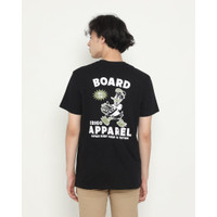 Kaos Pria Erigo T-Shirt The Board Cotton Combed Black