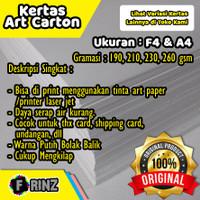 Karton Art Carton Karton Art Paper F4 A4 / Cartoon 190 210 230 260 gsm