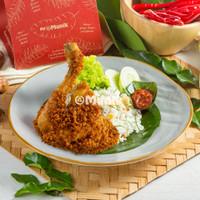 Nasi Daun Jeruk Ayam Kremes Kemasan Box