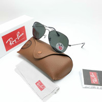 Kacamata Sunglasses Rayban Aviator Size 58 Kaca Polarized clone 1:1