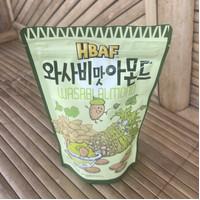 Wasabi Almond 210gram ~ Produsen Honey Butter Almond