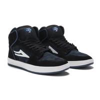 Shoes Skateboard Lakai Telford Black Blue Camp Suede / Sepatu Skateboa - 41