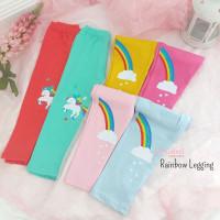 2-6 Thn - Legging Anak Rainbow Spandek Katun Celana Legging Panjang