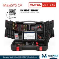 AUTEL MaxiSys CV Diagnostik ECU Diesel Common Rail Bus.Truk.Alat Bera