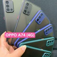 OPPO A74 4G / F19 AERO ORIGINAL BUMPER CASE SOFT TRANSPARANT COVER TPU