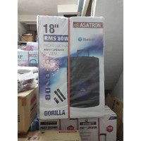 ASATRON Speaker Portable Bluetooth 18 inch - GORILLA