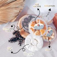 Parsel Ramadan Lebaran Kue Kering Nastar, Kastengel Terlaris - 300gr, Putri Salju