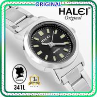 TERMURAH bisa COD Jam tangan wanita original HALEI 341 tahan air - kecil-black
