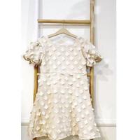 Flower Tulle Dress/Baju Dress Lebaran Anak Perempuan/Baju Princess Ana