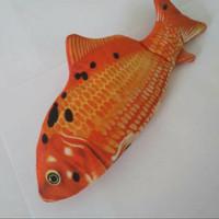 Boneka Ikan Emo Mas Tuna Salmon Dancing Recording Glowing