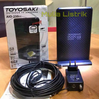 Antena TV luar dalam indoor Digital Analog Toyosaki AIO235 -sc