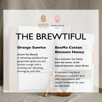 Gift Set (Hampers) - Package B : Sanka+Bira Tea/Tisane Blend + Honey