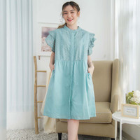 Noel Dress Beatrice Clothing - Dress Brokat Wanita