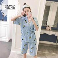 Baju tidur wanita dewasa/ piyama wanita / baju tidur kimono adem busui