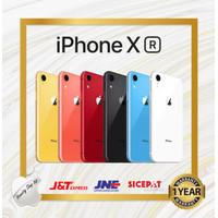 Apple iPhone Xr 128GB New Fullset Original Garansi Toko 1 Tahun