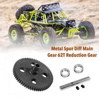 Spur Metal 12428 12423 Gear 62T Upgrade
