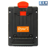 Dynacore D-MS V-Mount Adapter with 2 D-Tap Connectors and Open Back
