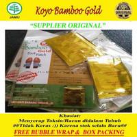 koyo kaki bamboo foot patch original gold detox lebih ampuh serap racu