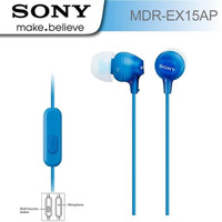 Handsfree/Earphone Original Sony MDR EX15AP - Black