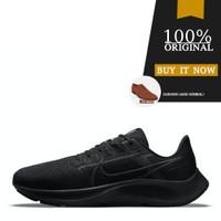 Sepatu Running Original Nike Air Zoom Pegasus 38 - Black/Volt
