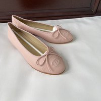 Chane* Flat Shoes To Toe Balerina Pink