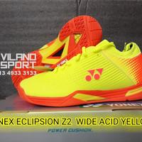 Sepatu Badminton Yonex Eclipsion Z2 Wide Acid Yellow