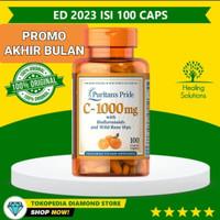 Puritan Vitamin C-1000 mg with Bioflavonoids & Rose Hips 100pcs Ready