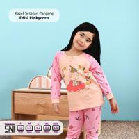 Kazel Setelan Panjang Motif Girl 1-5Thn