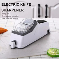 Electric Knife Alat Sharpener Asahan Pengasah Pisau Elektrik Otomatis