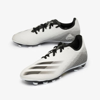 SEPATU BOLA ADIDAS X GHOSTED.4 FXG Men's Shoes - White/Black/Silver
