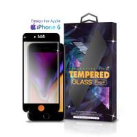 Tempered Glass iPhone 6 Full Cover Black - Premium Glass Pro