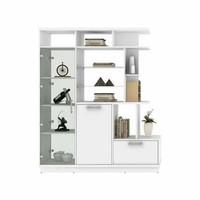 avanti lemari hias display kaca / rak sekat ruangan / penyekat ruangan