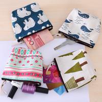Dompet Pouch Kanvas Eco Friendly Tas Belanja Canvas Bag