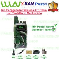 Paket Satuan Walkie Talkie WLN KD-C1 Loreng Army2 (Isi 1Pcs) - LORENG ARMY