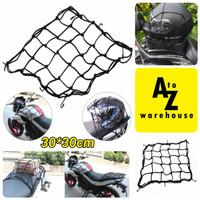 Jaring Helm Motor Sepeda Tali Jaring Motor Pengikat Barang Bagasi
