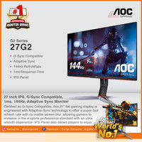 AOC 27G2 IPS 1ms 144Hz G-Sync Compatible GAMING MONITOR 27