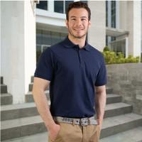 New States Apparel Premium Cotton 8100 Kaos Polo Shirt Pria Berkerah